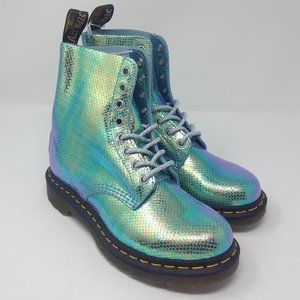 DR MARTENS Ladies 1460 Pascal Iridescent Boots